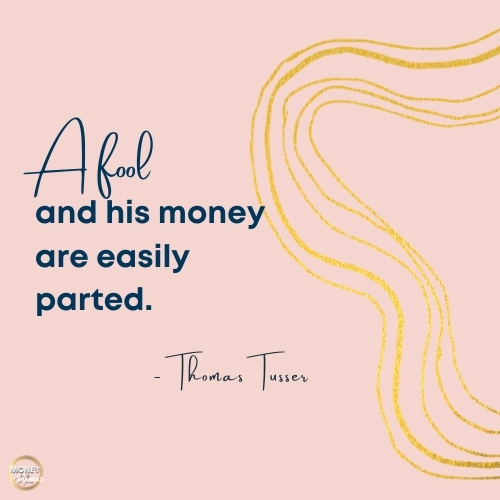 debt quote from thomas tussar