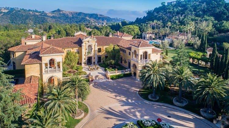Villa Firenze in North Beverly Park.