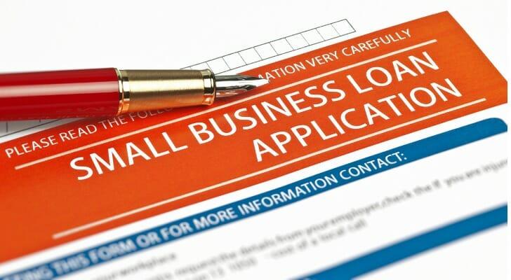 SBA loan application