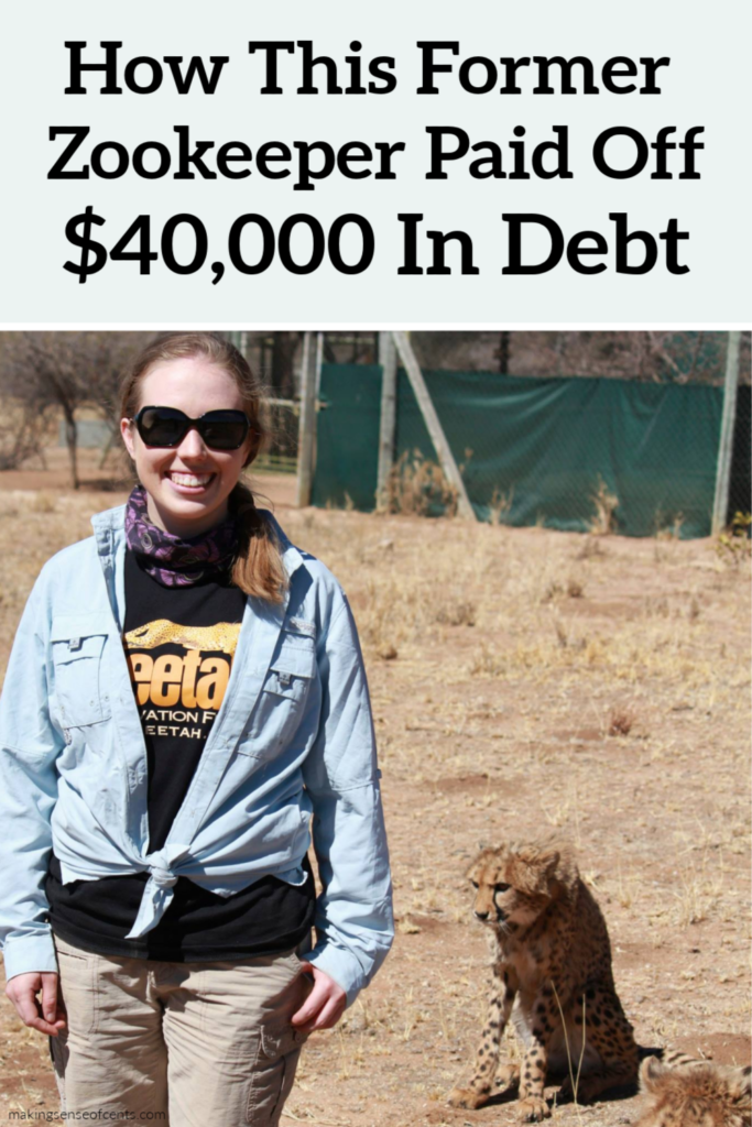 How This Former Zookeeper Paid Off Over $40,000 In Debt
